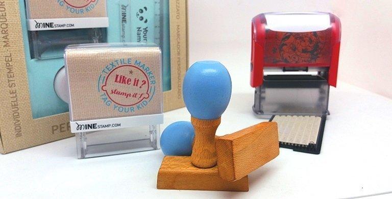 Segells de goma per marcar roba. Informació i recomanacions.
