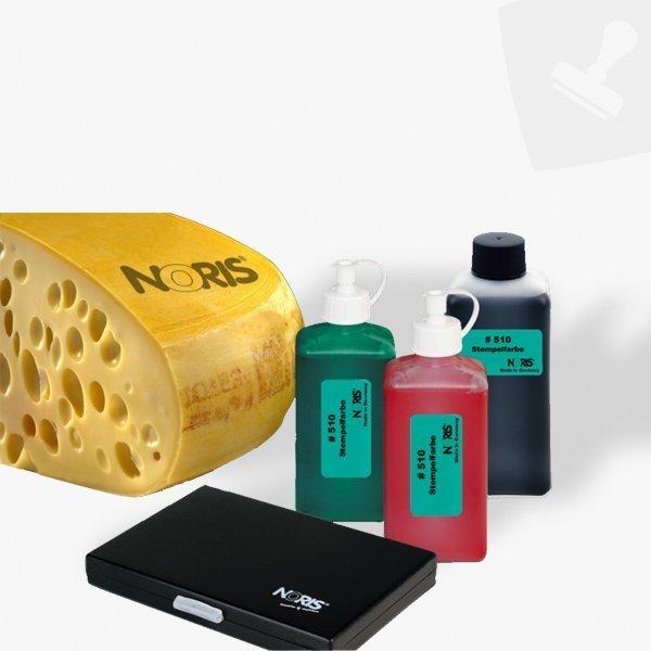 Tinta especial per a marcar formatges