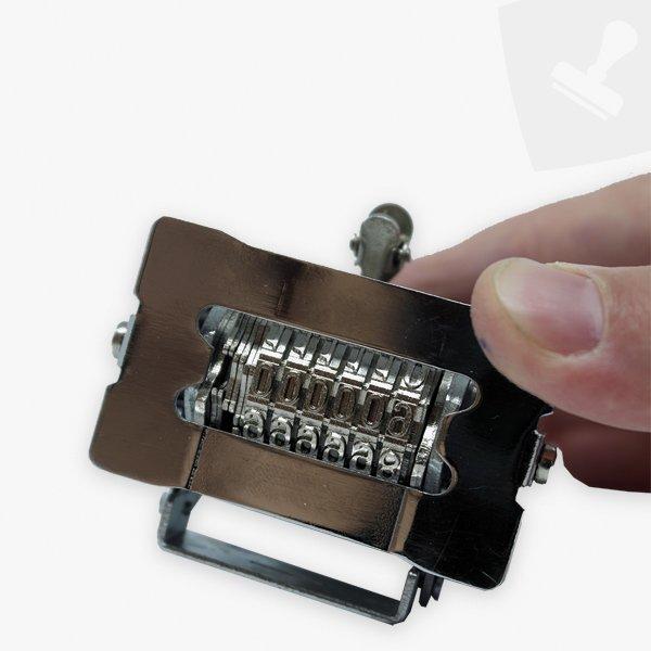 Numerador de repetició automàtica detall